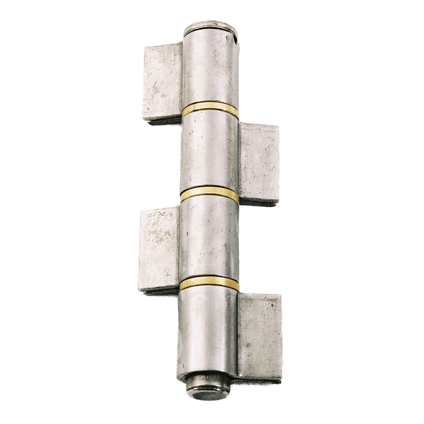 Pressed Pivot Pin : Weld on hinges gate signet locks