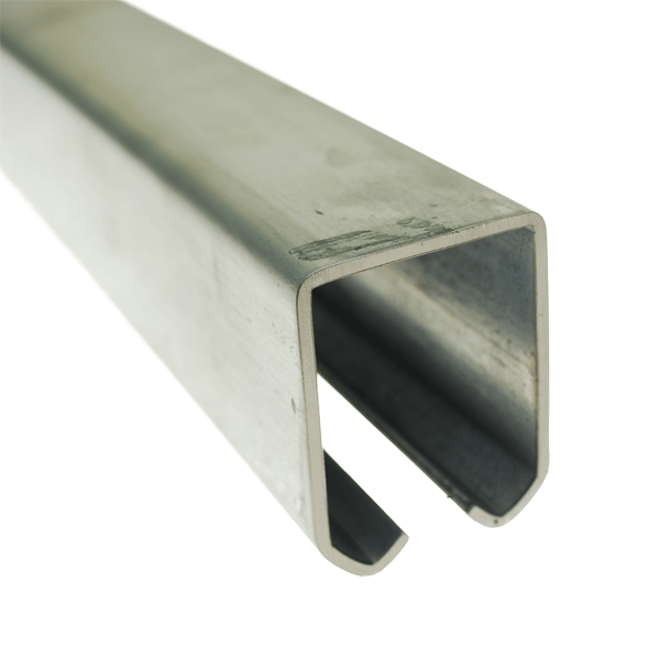 Heavy duty steel track for overhead system