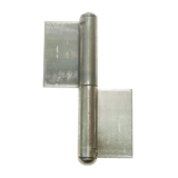 2_part_pressed_flag_hinge_with_fixed_pin_20381