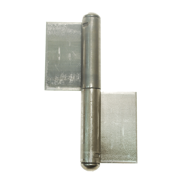 Pressed Pivot Pin : Part pressed flag hinge with fixed pin signet locks