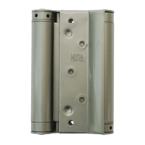 Double action steel spring hinges signet locks