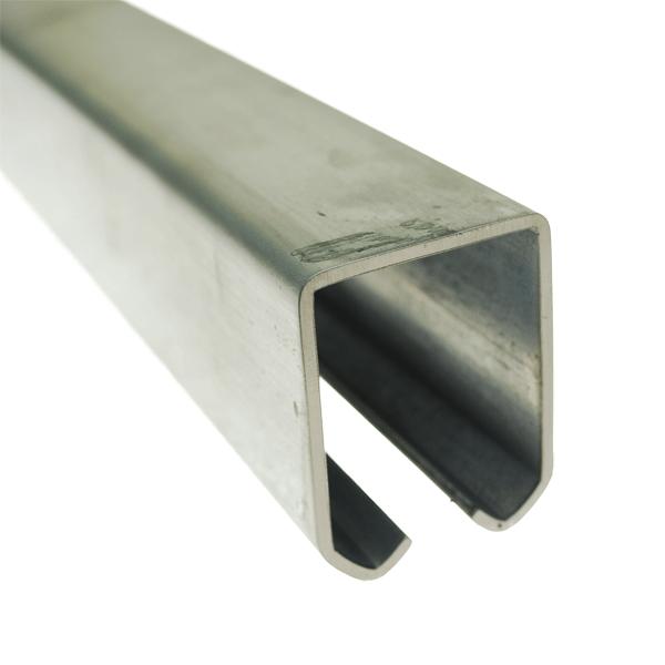 Heavy Duty Steel Track For Overhead System Signet Locks