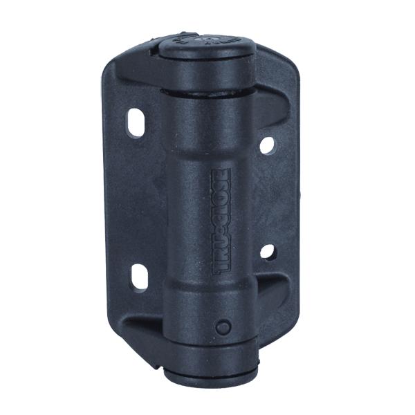 Reinforced polymer spring hinges signet locks